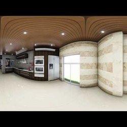 مطبخ حديث بتقنية 360°