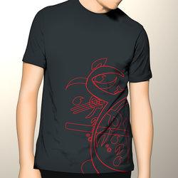 Calligraphic T-shirts Design