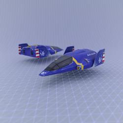 F Zero - Blue Falcon
