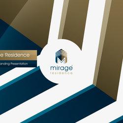 2 - mirage residence logo presentation