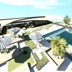 Landscape design. Erbil- Iraq