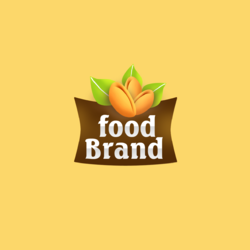 Food Brand logo design