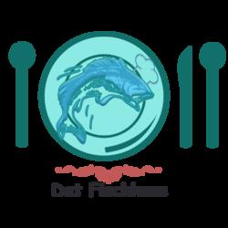 شعار لشركة ماكولات بحرية