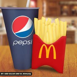 Pepsi McDonald - Digital Art