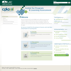 LAU- CPLA website