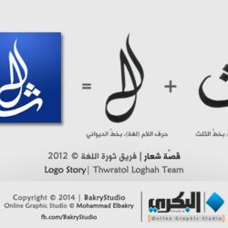 Logo Story: Thawgha | قصّة شعار: ثورة اللغة