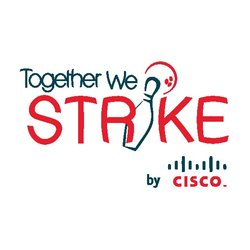 Together we strike logo options