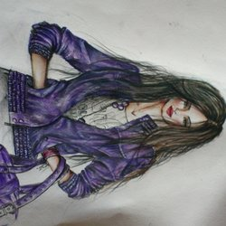 Drawing, Fashion, Illustration. ...  Girl