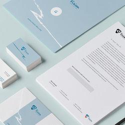 Branding Identity لـ Vision Design
