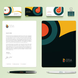 Branding Identity لـ معهد iBRA