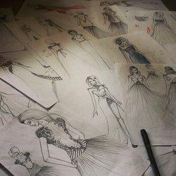 رسم الازياء . تصميم الازياء Drawing, Fashion, Illustration