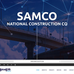 Samco National Construction Co. Website