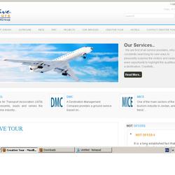 Creative Toure Website