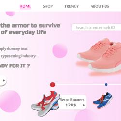 Full UI/UX Ecommerce online store design
