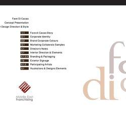 Concept Development for Food & Beverage