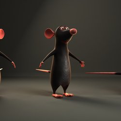 Ratatouille Mouse Character