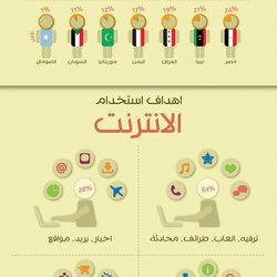 Arab Internet Infographic ..