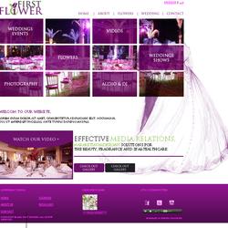 First Flower Website