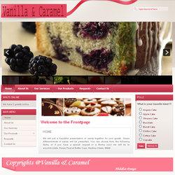 Vanilla & Caramel Website