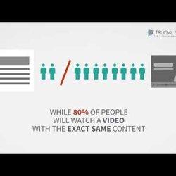 Service explanatory video