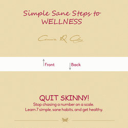 Quit Skinny 7 steps .... book cover design