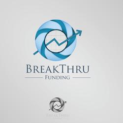 """تصميم شعار """"BreakThru Funding"""""""
