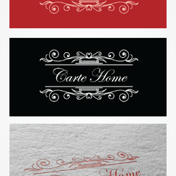 """تصميم شعار """"Carte Home"""""""