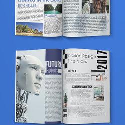 Madenaty Magazine Design
