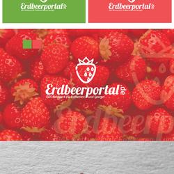 """تصميم شعار """"Erdbeerportal"""""""