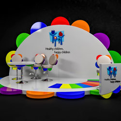 Healthy Children Booth design
