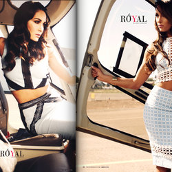 Magazines Design - تصميم غلاف مجلة - Bella Twins Models