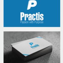 """تصميم شعار """"Practis"""""""