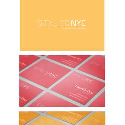 """تصميم شعار """"StyledNYC"""""""