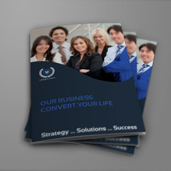 Company Brochure Bi-Fold Template Vol.36