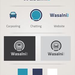 """تصميم شعار """"وصلني"""" Wasalni"""