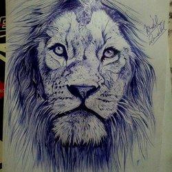 my ballpoint pen drawings