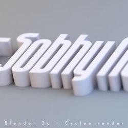 3d - Text