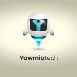 شعار لمجلة رقمية مرئية '' Yawmiatech