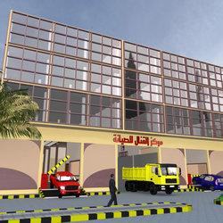 تصميم مركز صيانة سيارات