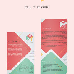 Fill The Gap Logo + Flyer - GSG