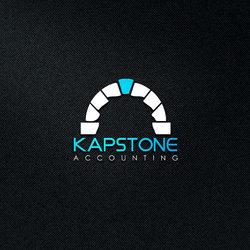 Kapstone Accounting Logo Design