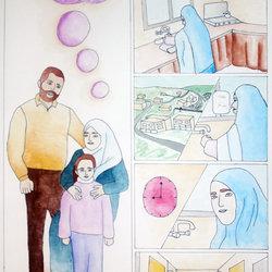 قصه تحكي واقع فلسطين