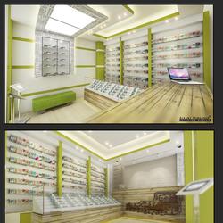 تصميم محل تجاري - الجاردنز - عمان