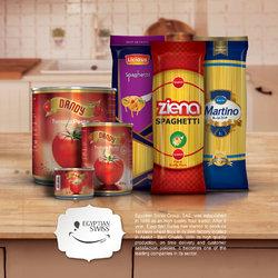 Pasta Catalog Design