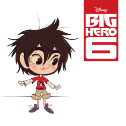 Big Hero 6 illustration