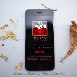 تطبيق My CV