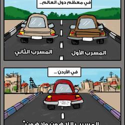 Comics: Driving in Amman