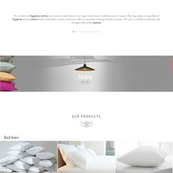 Nassg Egyptian Cotton Website