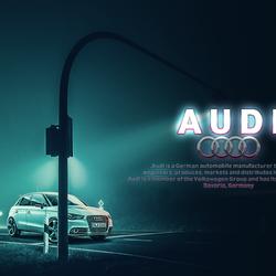 إعلان شركة AUDI