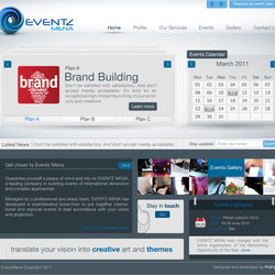 EventzMena Website